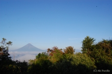 Mayon Volcano in the morning