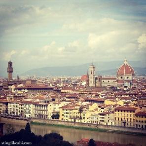 Piazzale Michelangelo. Firenze.