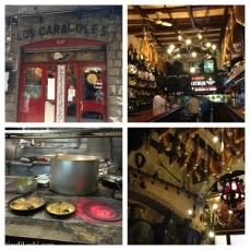 Los Caracoles, near Las Ramblas. I highly recommend!