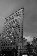Isn't It Iron-ic?: Steele-colored skies and The Flatiron building
