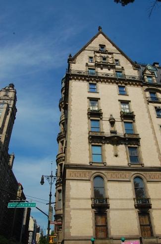 John Lennon's apartment at The Dakota. Yoko Ono still lives there.