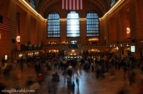 The center of Grand Central Station