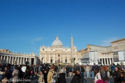 Il Vaticano, Easter Sunday