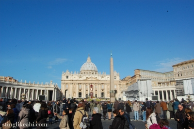 Il Vaticano, Easter Sunday