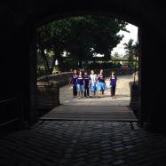 """On Thursdays, we wear blue."" - Mean Girls of Manila"