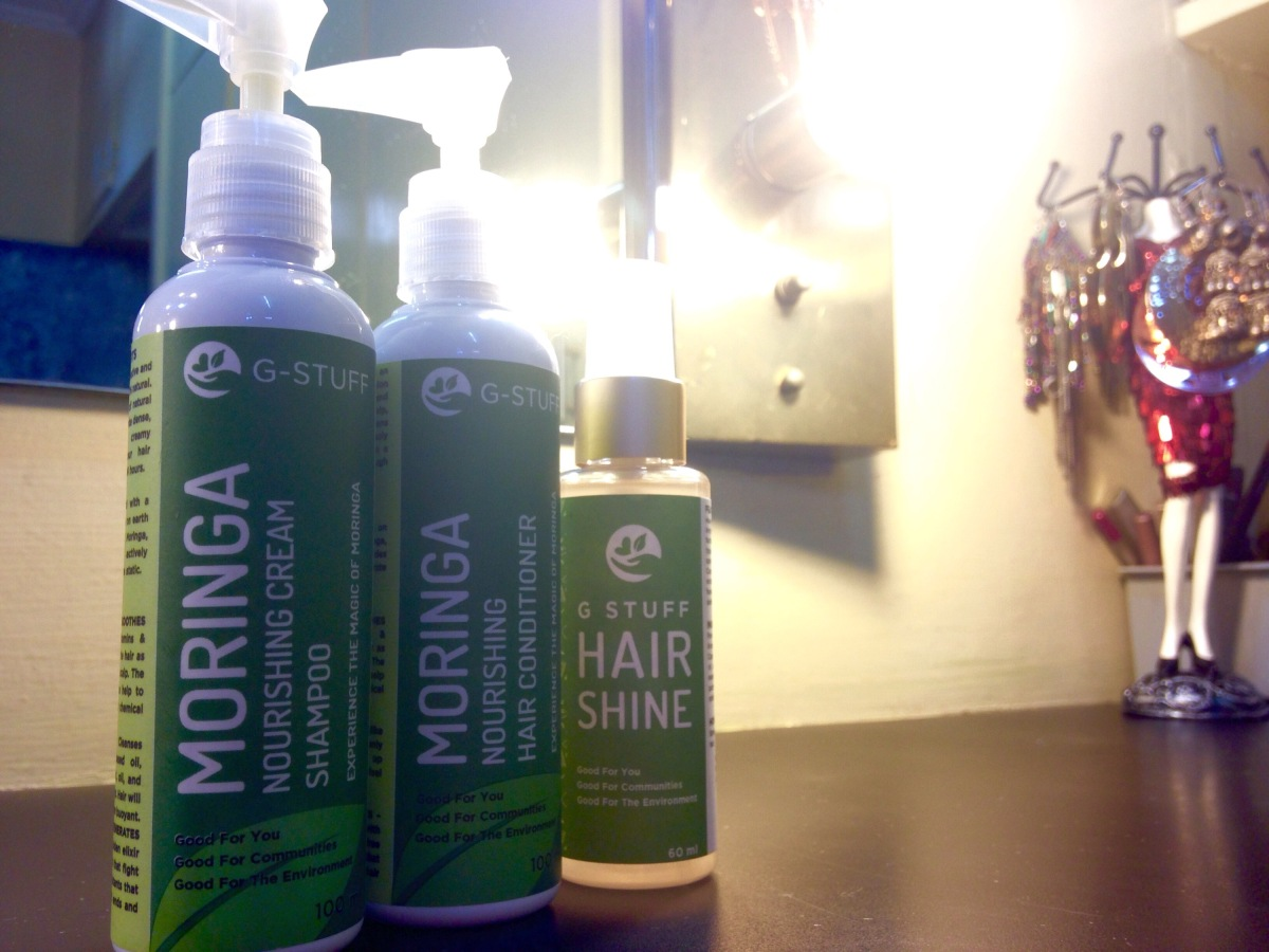 The Most Pleasant Surprise: G-Stuff Hair Care