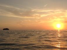Homeward-bound sunrise rides