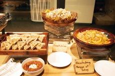 Sisis Quesadillas, Dinakdakan, Ensaladang Mangga at Talong