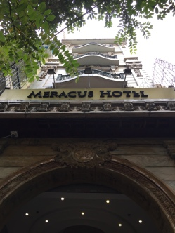 Meracus Hotel's misleading facade